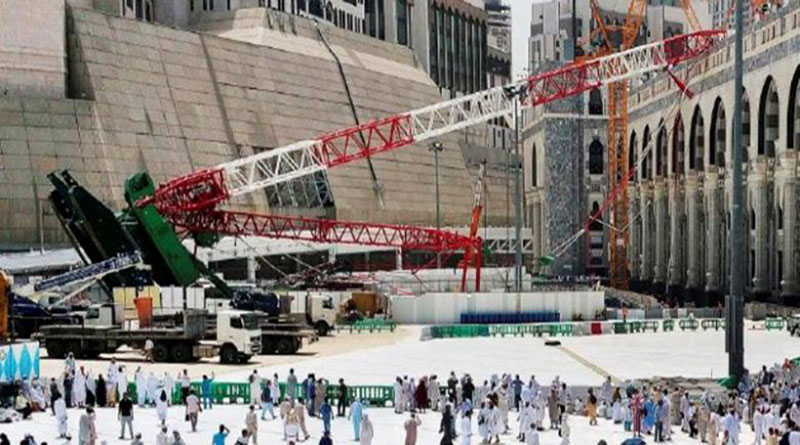 Kepedulian Tinggi Raja Arab Saudi Terhadap Tragedi Crane Mekah