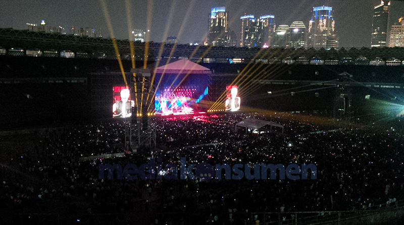 Konser Bon Jovi di Jakarta Tidak Tampil Maksimal