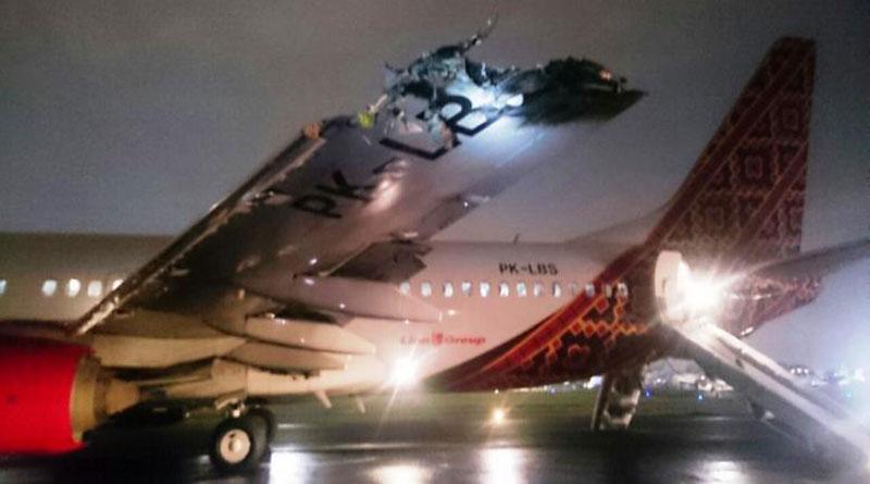Insiden Tabrakan Batik Air dengan TransNusa di Runway Bandara Halim Perdanakusuma