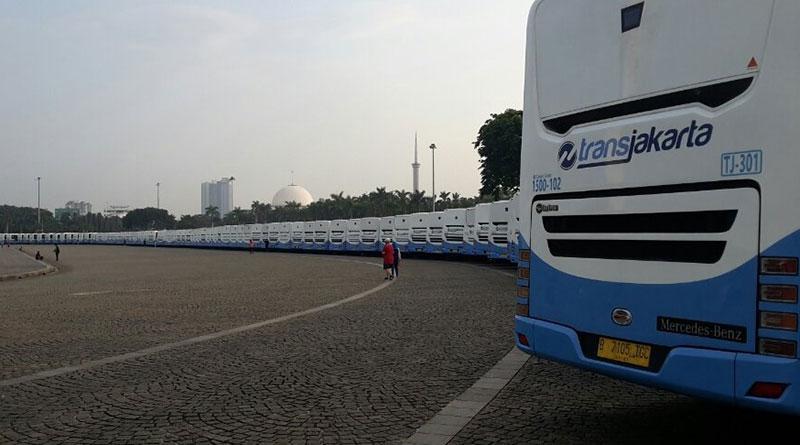 Transjakarta Menambah 118 Armada Bus Baru
