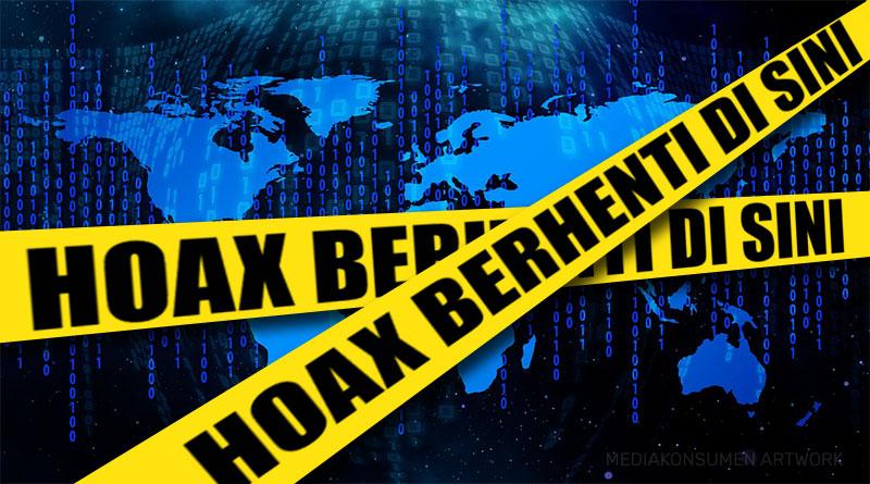 Soal Hoax, Kami Setuju untuk Memberantasnya