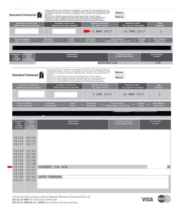 35 Kartu Kredit Standard Chartered Info Dana Tunai