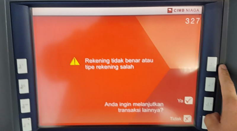 Pemblokiran Rekening Oleh Cimb Niaga Terkait Tagihan Kartu Kredit