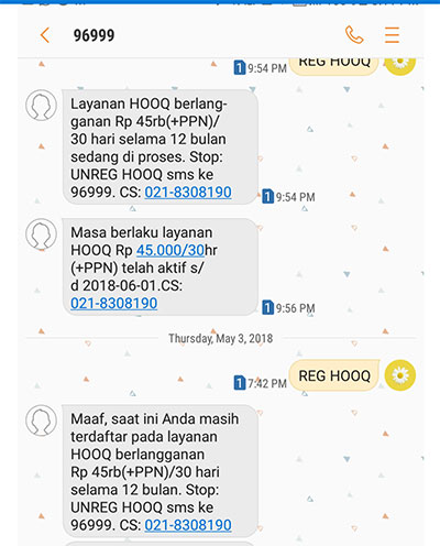 Hooq dan Telkomsel Saling Lempar Tanggung Jawab - Media Konsumen