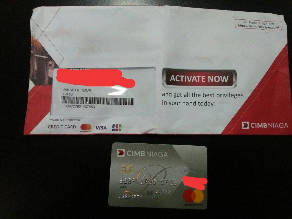 Klarifikasi Pengajuan Kartu Kredit CIMB Niaga Masterdcard ...
