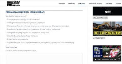 LBH Jakarta Membuka Pos Pengaduan Terkait Masalah Fintech Pinjaman Online