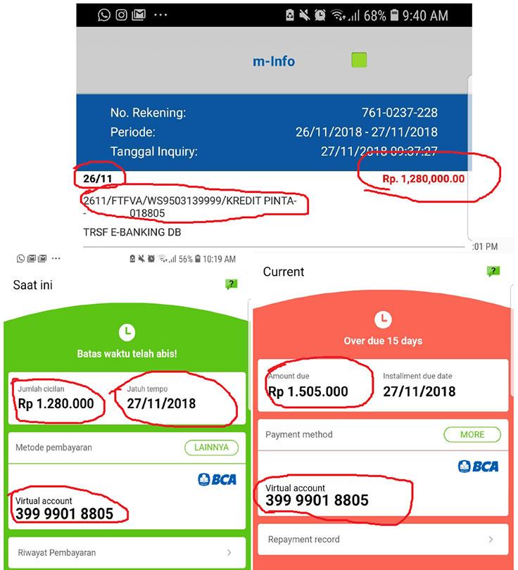 Sistem Kredit Pintar Mengecewakan Sudah Dibayar Tapi Masih Ditagih Media Konsumen