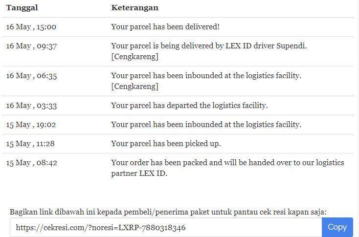 Pesanan Dari Lazada Tidak Diterima Tapi Statusnya Sudah Diterima Media Konsumen