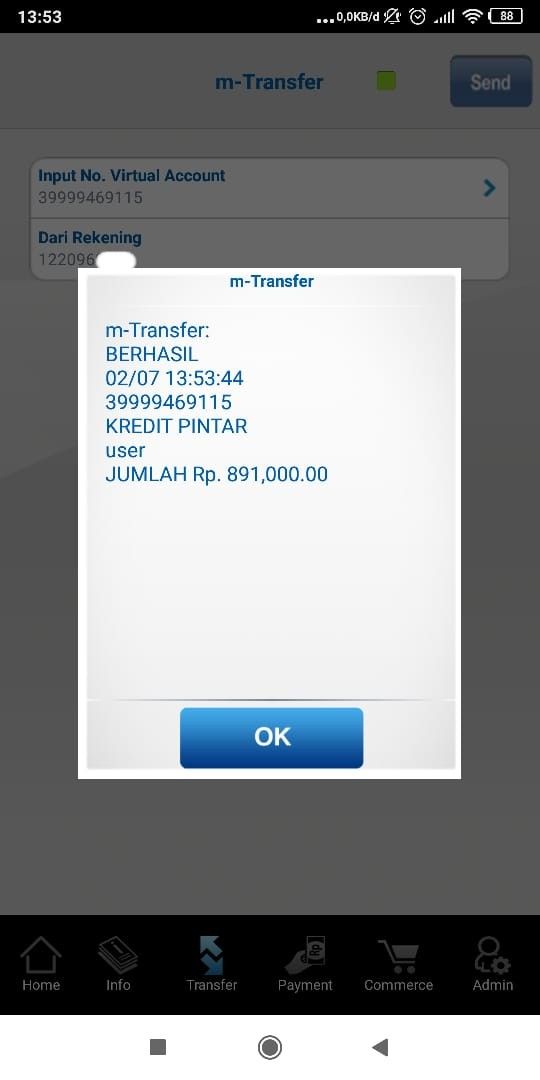 Penyelesaian Masalah Transfer Salah Kode Virtual Account Kredit