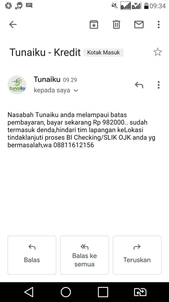 Telat Bayar KTA Amar Bank dan Tidak Bisa Reschedule ...