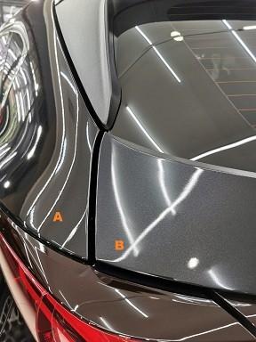 Mazda Baru Belang Belakang