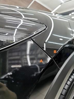 Mazda Baru Belang Depan