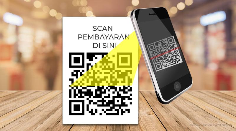 Pembayaran dengan Scan QRIS di aplikasi Jenius, Saldo ...