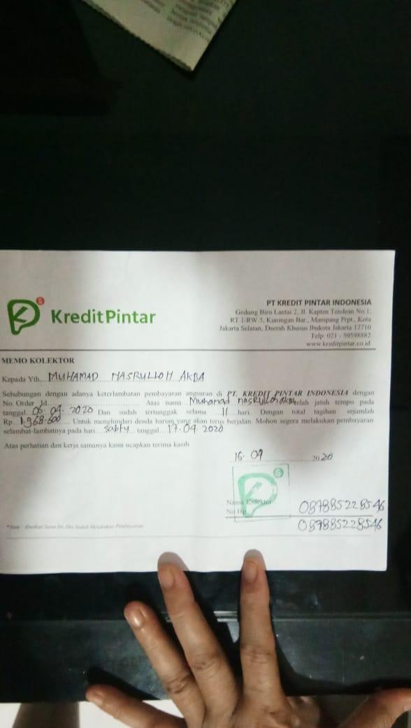 Penagihan Debt Collector Kredit Pintar Pada Masa Pemberlakuan Psbb Kota Bekasi Dan Sekitarnya Media Konsumen