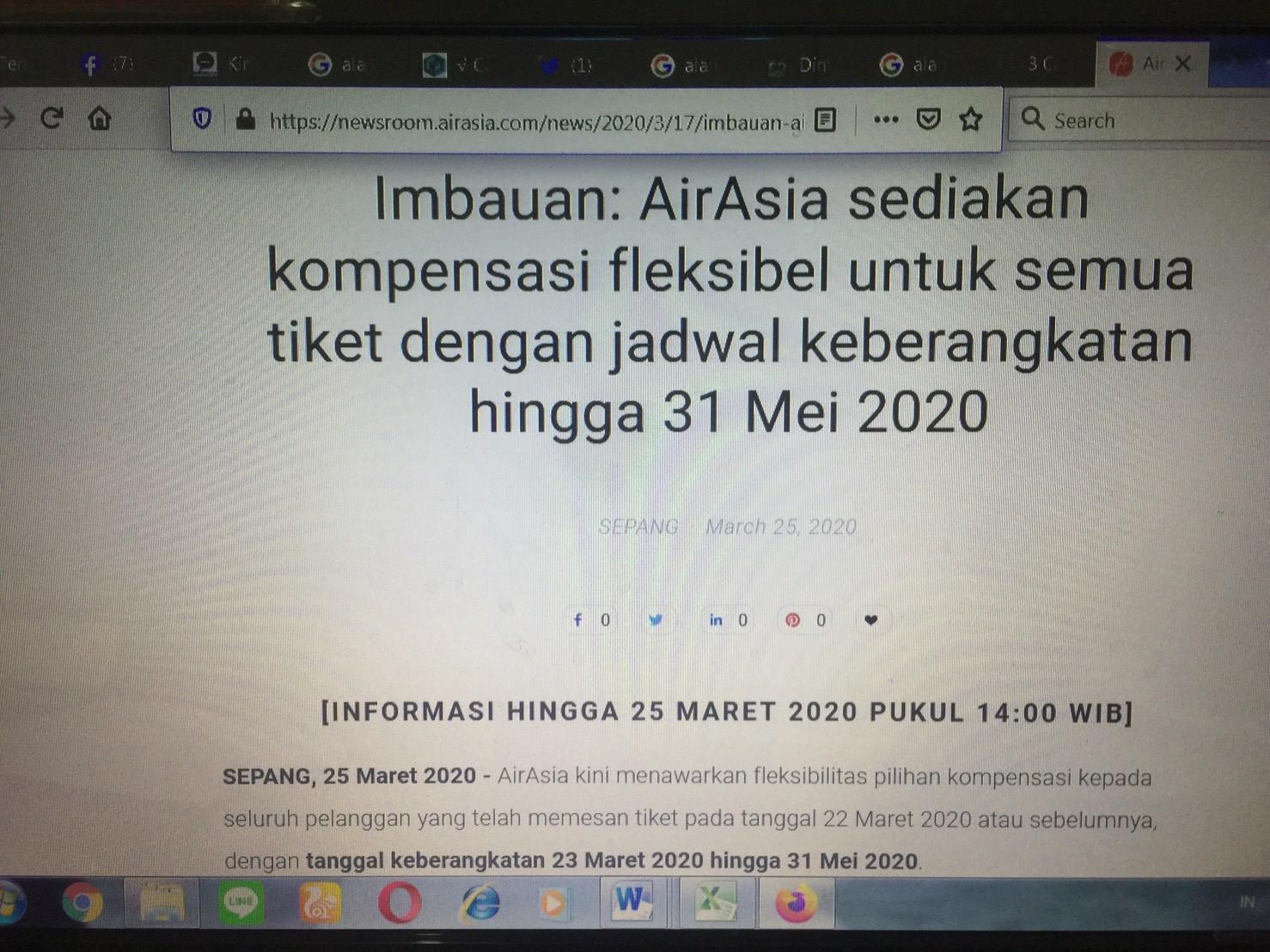 Website Airasia