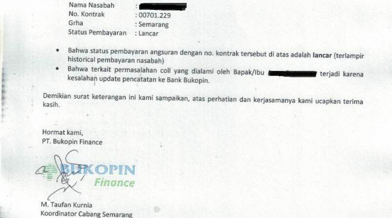 Bank Bukopin Qq Bukopin Finance Sangat Ceroboh Dan Lalai Dalam Penerbitan Slik Ojk Media Konsumen