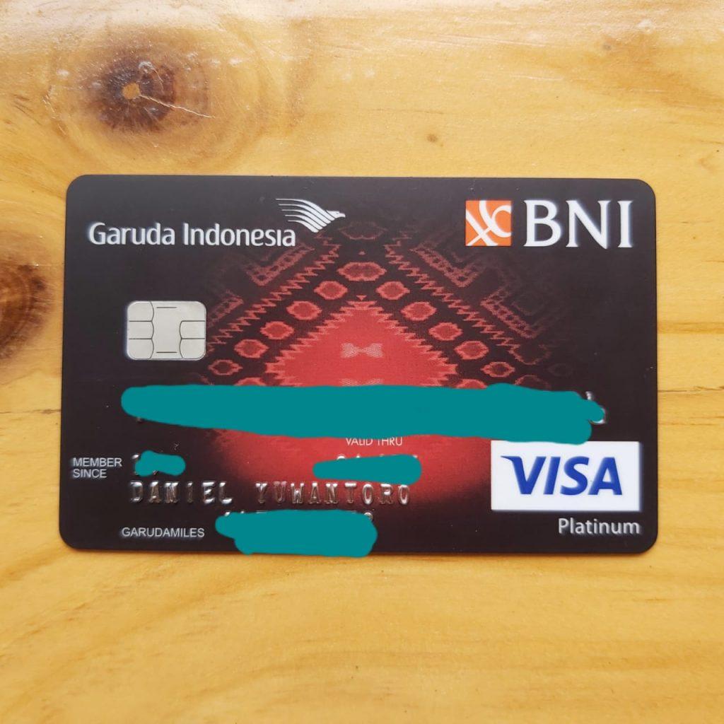 Garuda BNI Card