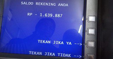 Rekening BRI Terblokir dan Saldo Minus Gara-gara Progam Bantuan UMK yang Tidak Jelas