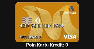 Pemutusan Kartu Kredit Bank Mega
