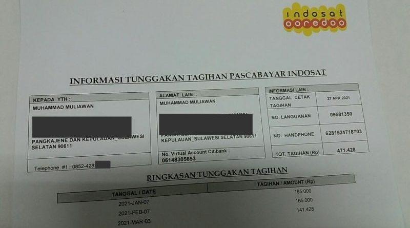 Tagihan Nomor Pascabayar Indosat Yang Saya Tidak Pernah Daftar Media Konsumen