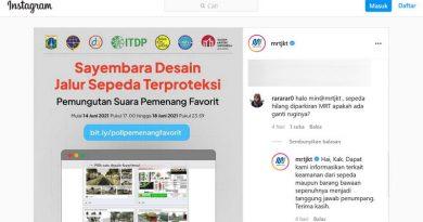 Sepeda yang Digembok, Hilang di Parkiran MRT Jakarta