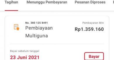 Biaya Relaksasi Home Credit Indonesia