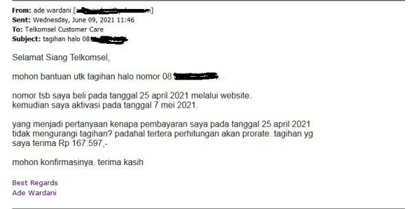 email 9 juni 2021