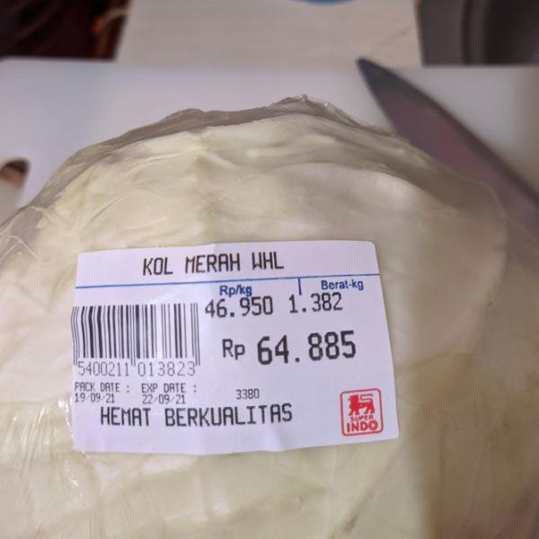 Kol harga Rp 64.885