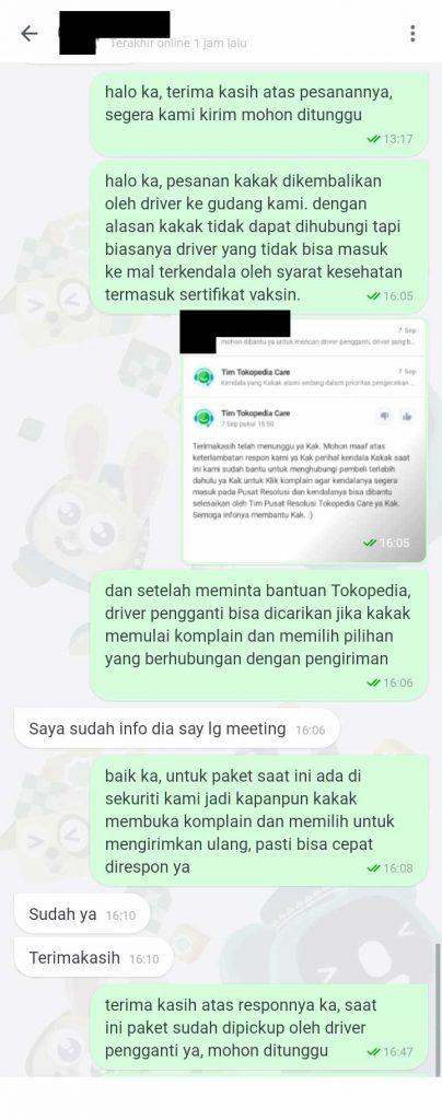 Chat dengan Pembeli