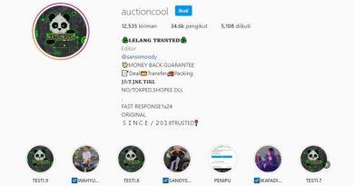 Waspada! Modus Penipuan Online Berkedok Lelang/Auction di Instagram!