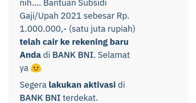 Rumitnya Syarat Pencairan Bantuan Subsidi Upah (BSU) di Bank BNI